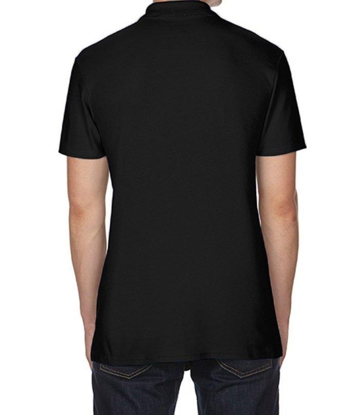 Black freemasons polo t shirt