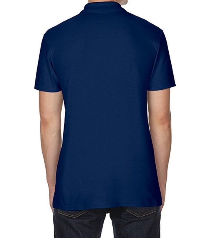 Blue masonic polo shirt