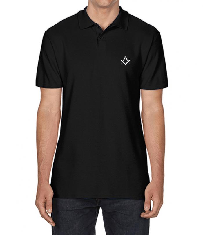Masonic Polo Shirt - Black