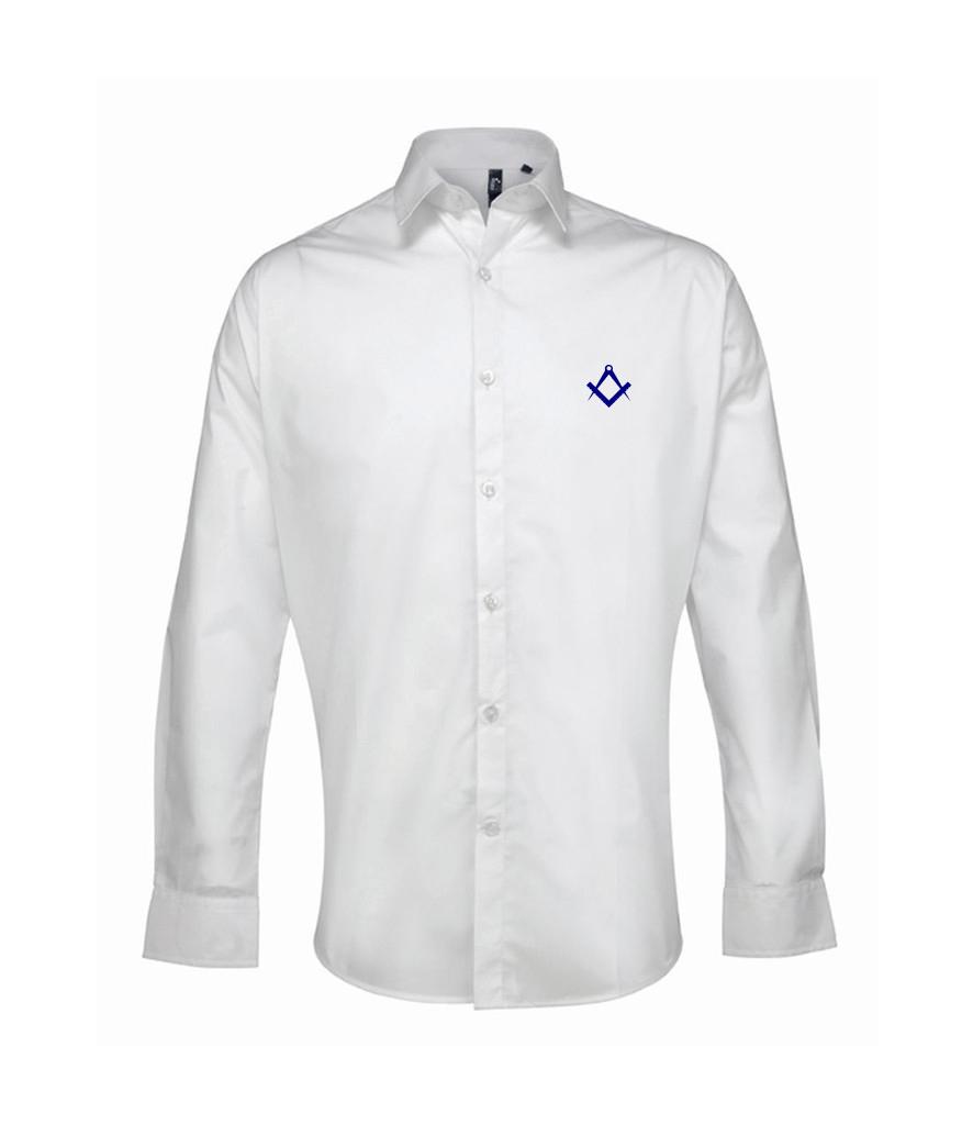 White freemason dress shirt gift or present