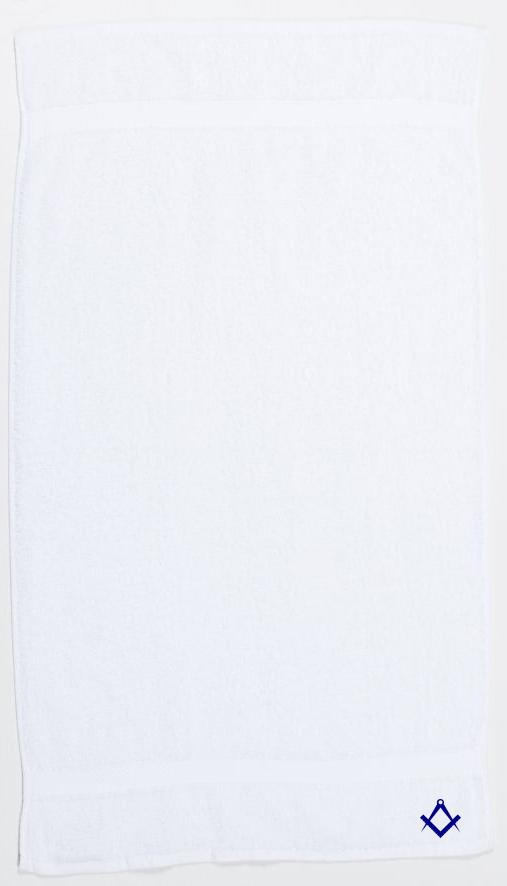 Freemasons Bath Towel White