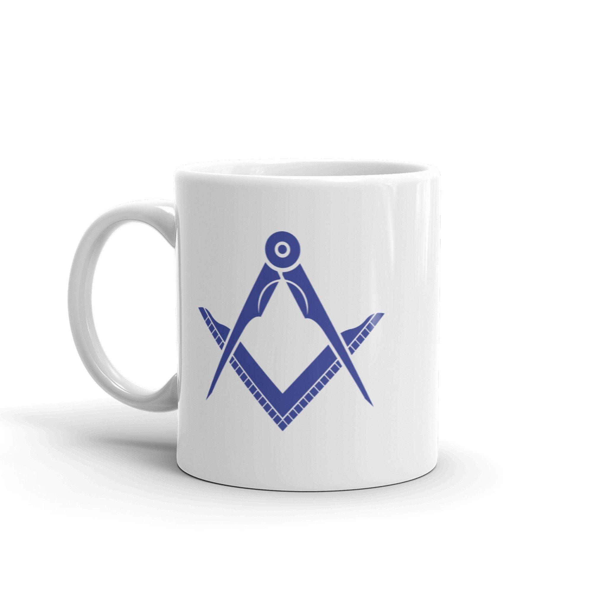 Masonic mug - Handle left