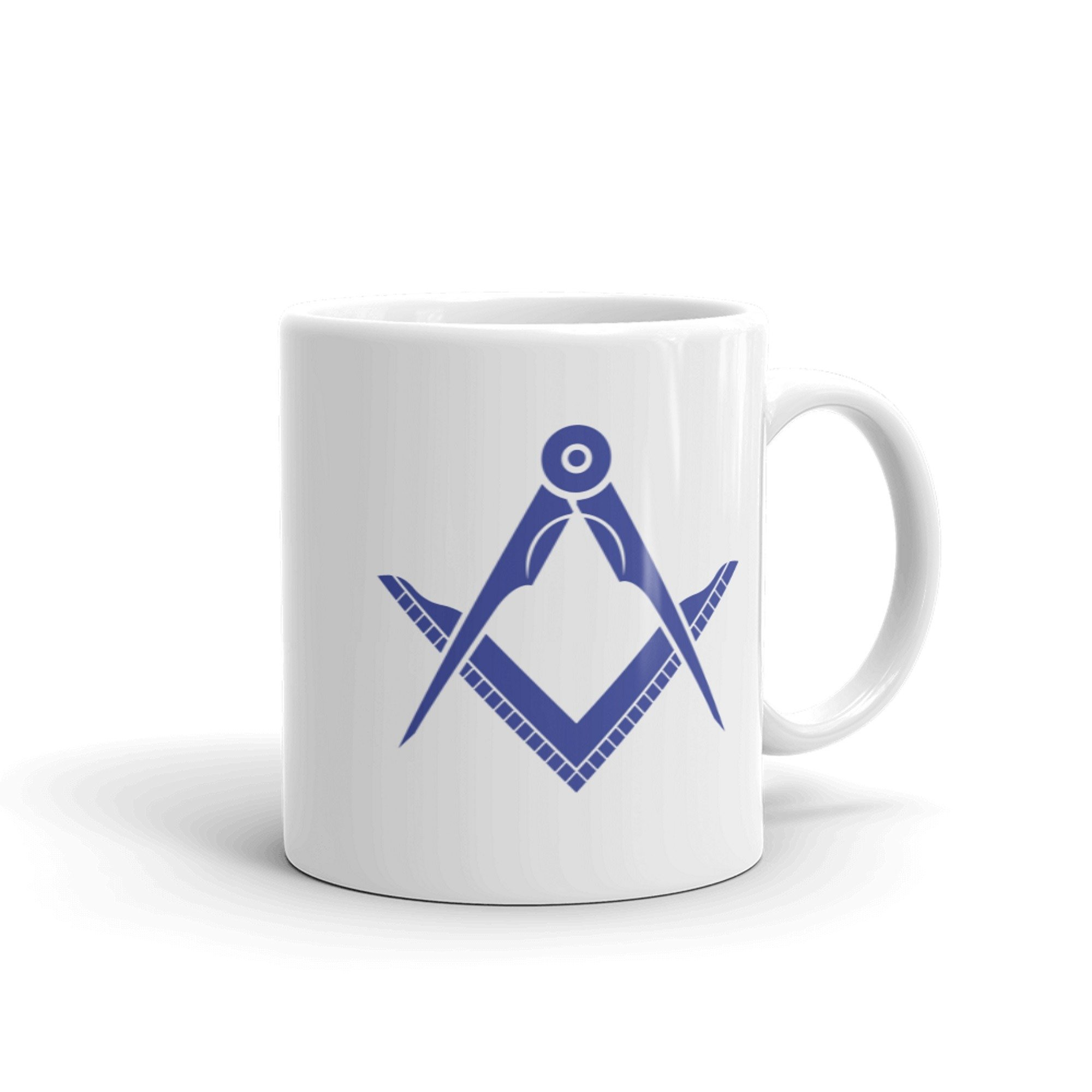 Masonic mug - Handle right