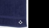 Masonic bath towel – Freemasons masonic gift or present